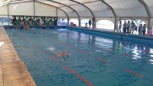Nadadores de Independiente compiten en el Nacional de infantiles y menores
