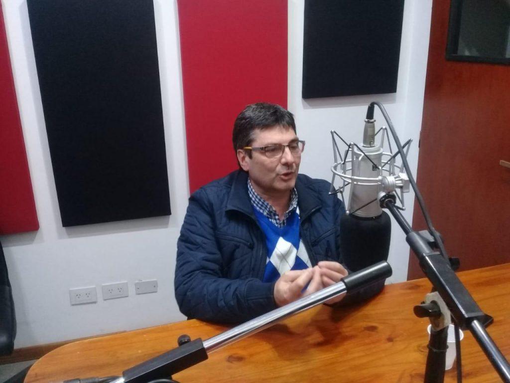 """Gustavo Bruno: """"Es un orgullo poder tener un microestadio en Escobar"""""""