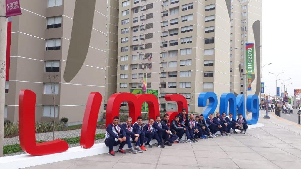 """Dario Lencina desde  Lima : """"vamos a tratar de dejar a la Argentina lo más alto posible"""""""