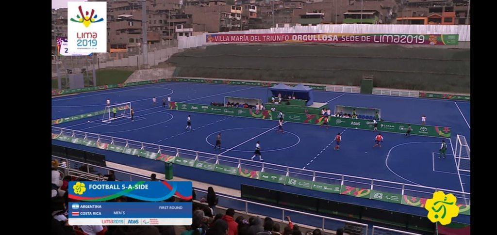 Los Murciélagos  debutaron en los Juegos Parapanamericanos con un triunfo