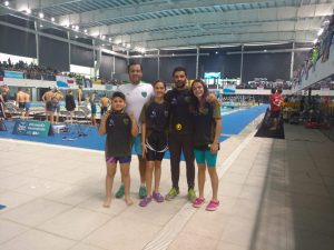 Nadadores de Independiente mejoraron marcas  en el  Nacional