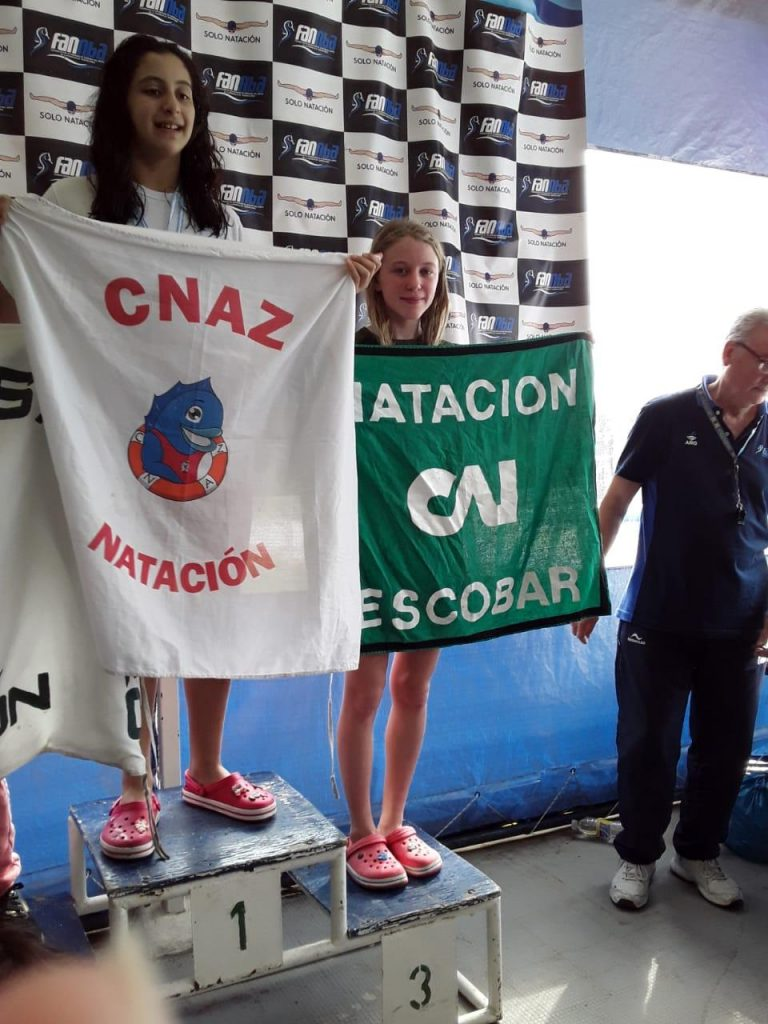 Destacada actuación de nadadores promocionales de Independiente