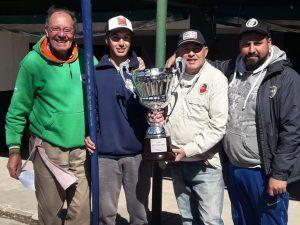 Julián Domenech  ganó la  Copa Aniversario del club de Pescadores