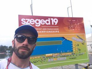 Sebastián Ramírez participo en el Mundial Master de Canotaje en Hungría