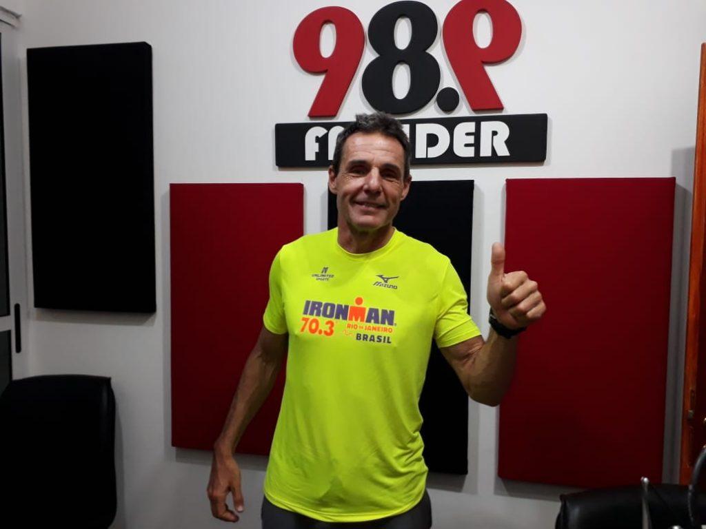 Misión cumplida para Oscar Giroto en el medio Ironman de Río de Janeiro