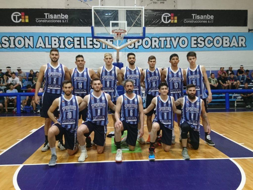 Sportivo Escobar inicia en Zárate su ilusión Federal