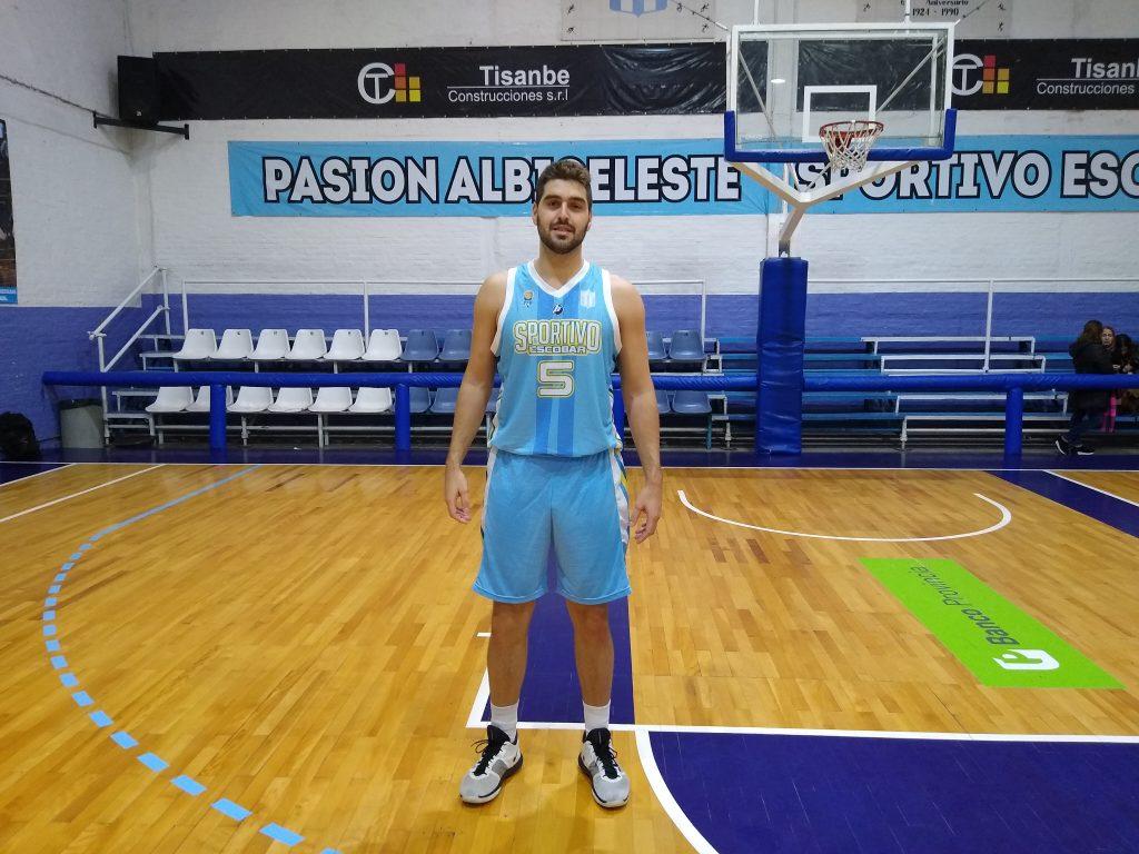 """Martín Gareis: """"Nunca dudé en seguir en Sportivo"""""""