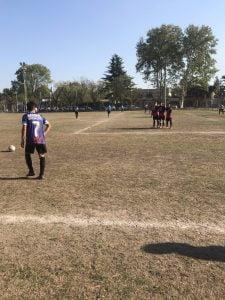 Atlético Escobar sumo tres puntos claves