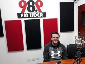 """Julián Santana: """"obtener el campeonato seria coronar el muy buen año que venimos teniendo"""""""