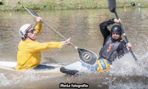 """Diego Gago, tras la Super Liga de Kayak Polo: """"Fue una experiencia súper enriquecedora"""""""
