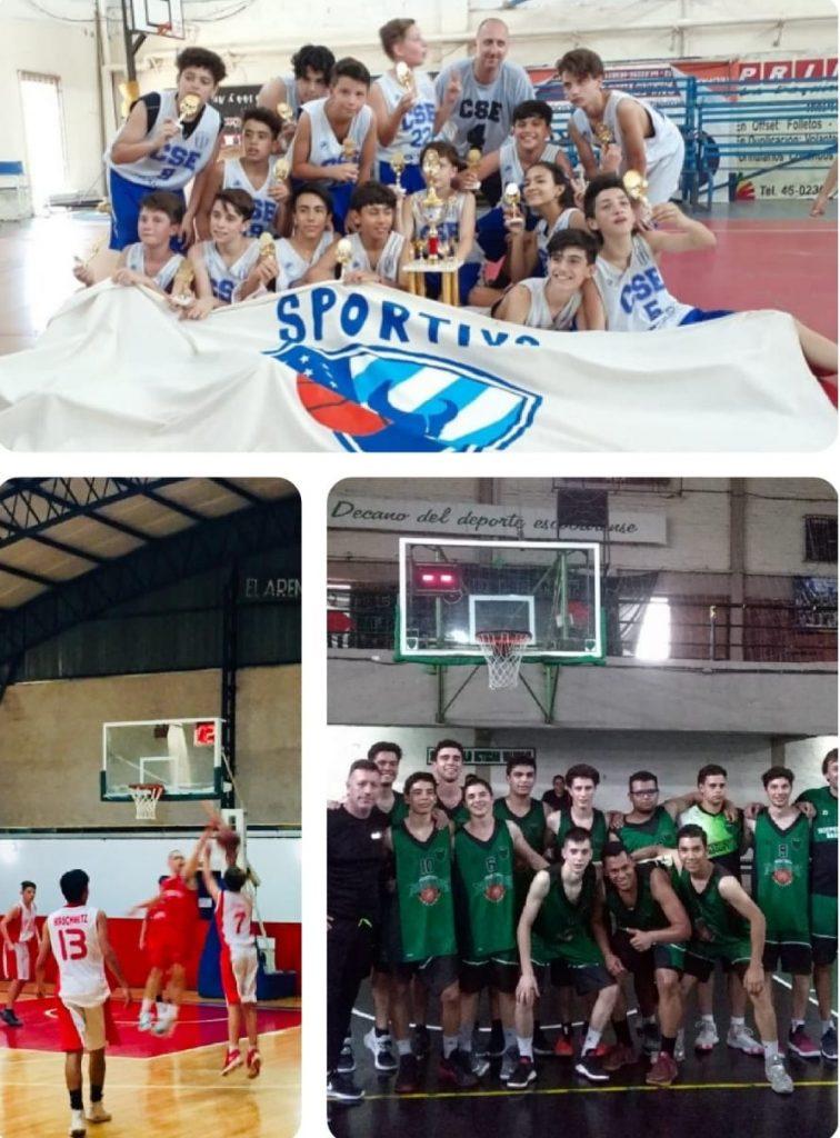 Inferiores: Sportivo, Arenal y Caide disputaron los cuartos