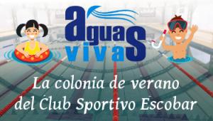 AGUAS VIVAS, la colonia de verano  del Club Sportivo Escobar