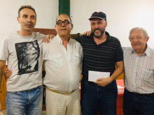 Cristian Dolezal, otra vez campeón del Torneo Abierto del Círculo de Ajedrez de Escobar