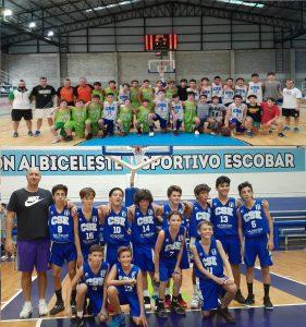 Sportivo clasificó al zonal con dos categorías