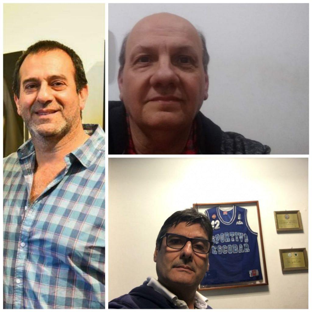 """Basso, Bruno y Sejas: """"Estamos orgullosos del crecimiento"""""""