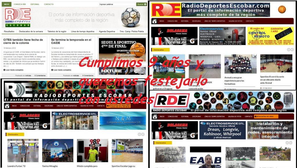 La web de RDE cumple 9 años