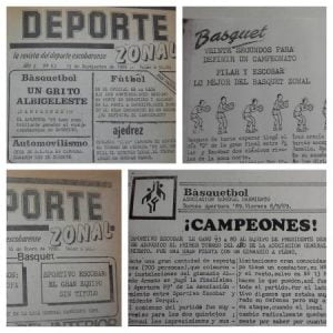 El imborrable paso de Sportivo por la Asociación de Básquet Sarmiento