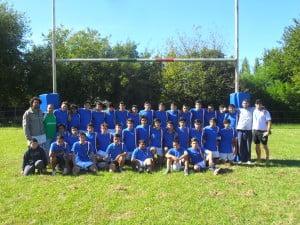 Planteles de Rugby Club Italiano Escobar.