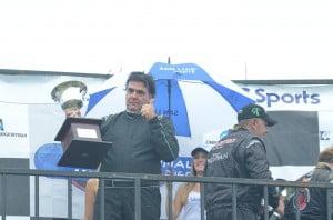 Frangioli y Girotti en el podio.