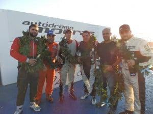 Podio GP 2014 Clase 2 La Plata