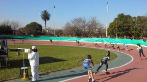 Pista del Polideportivo Luis Monti