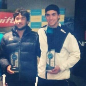 Galarza - Makiguchi ganadores en doble en Villa Allende