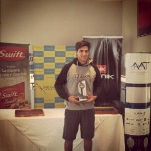 Juan Ignacio Galarza ganador en single