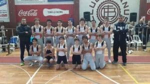 Equipo de gimnasia artística de Escobar en Lanus