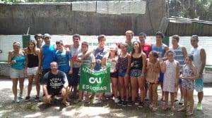 Nadadores federados, promocionales, master y profesores