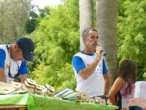 Fernando Perez iniciando la premiación