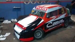 El auto de Leo Cordani