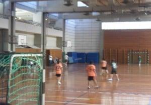 Buena tarde de las formativas de handball de Escobar.