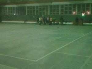 La arenga escobarense, previa al partido.