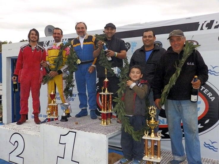 Podio Copa Master 1.6 Gran Premio - La Plata