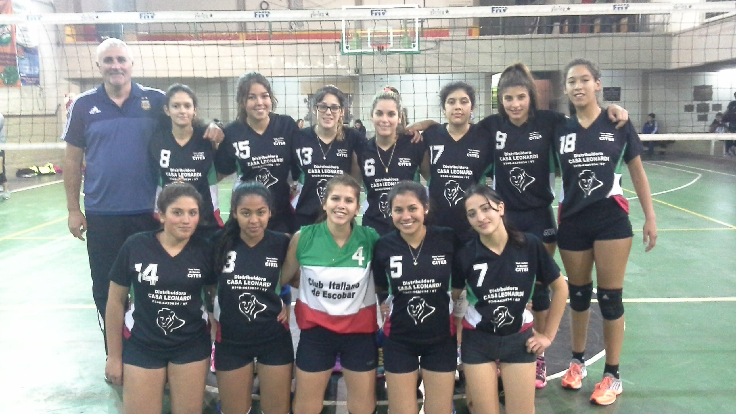 Equipo sub 21 Club  Italiano de Escobar