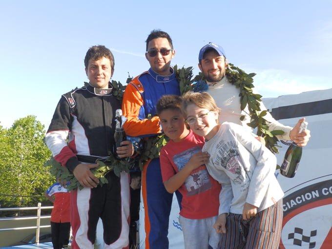 Sifo - Gaitan Orlando - De Vincenti podio Promocional  en La Plata