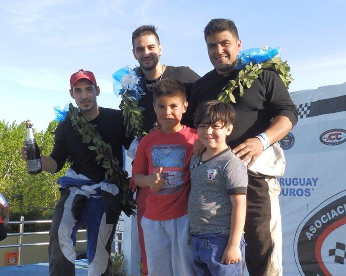 Caccavo - D´Angelo - Roldan podio TC 1100 en La Plata