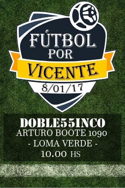 Fútbol solidario en Escobar