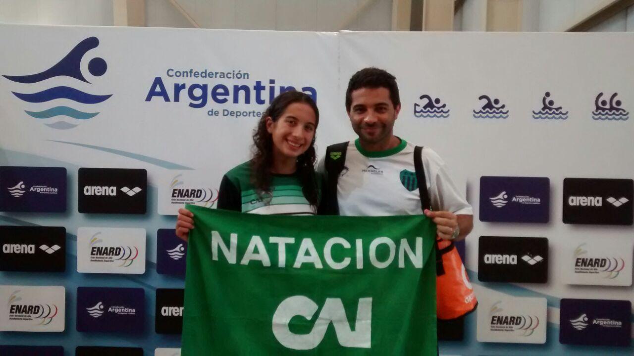 Macarena Gimenez y Ezequiel Bucci