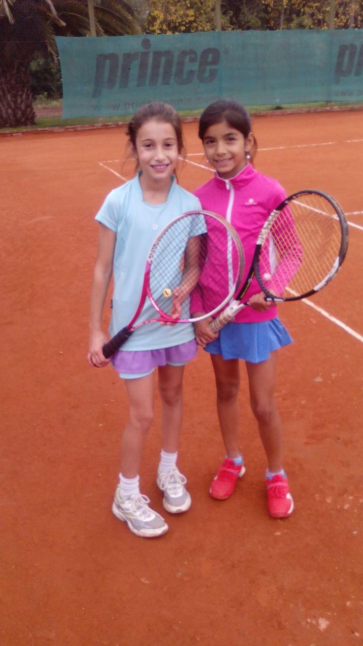 Camila Demarco - Sahira Tierno en Demarco Tenis de Pilar