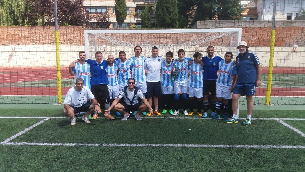 Murciélagos campeones 01 en Madrid 2017