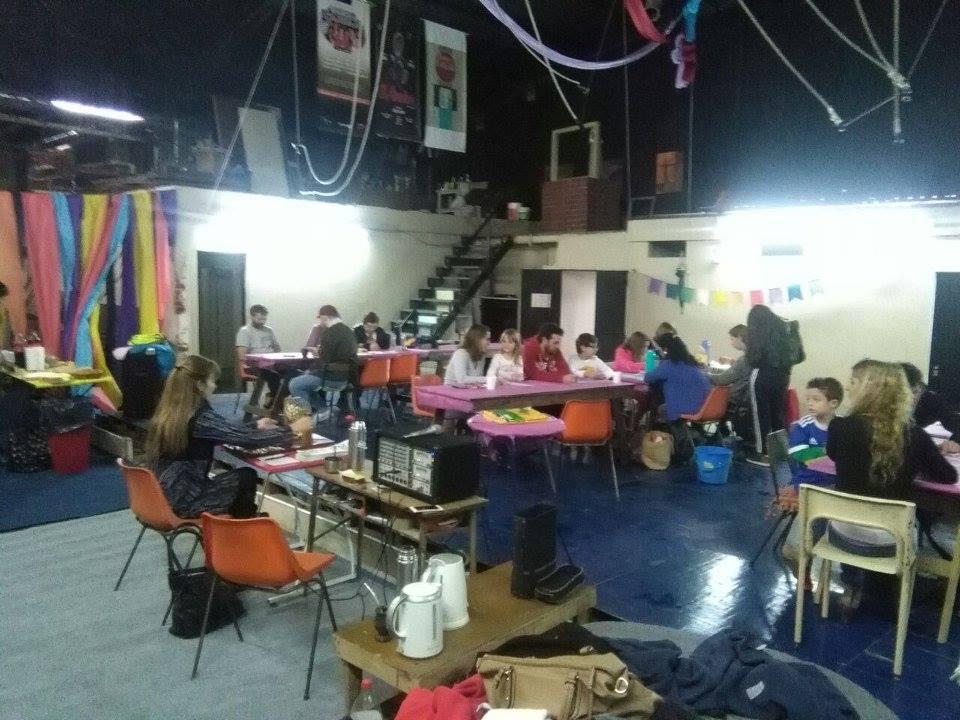 Lotería Familiar para recaudar fondos, en la Sala Ensueño