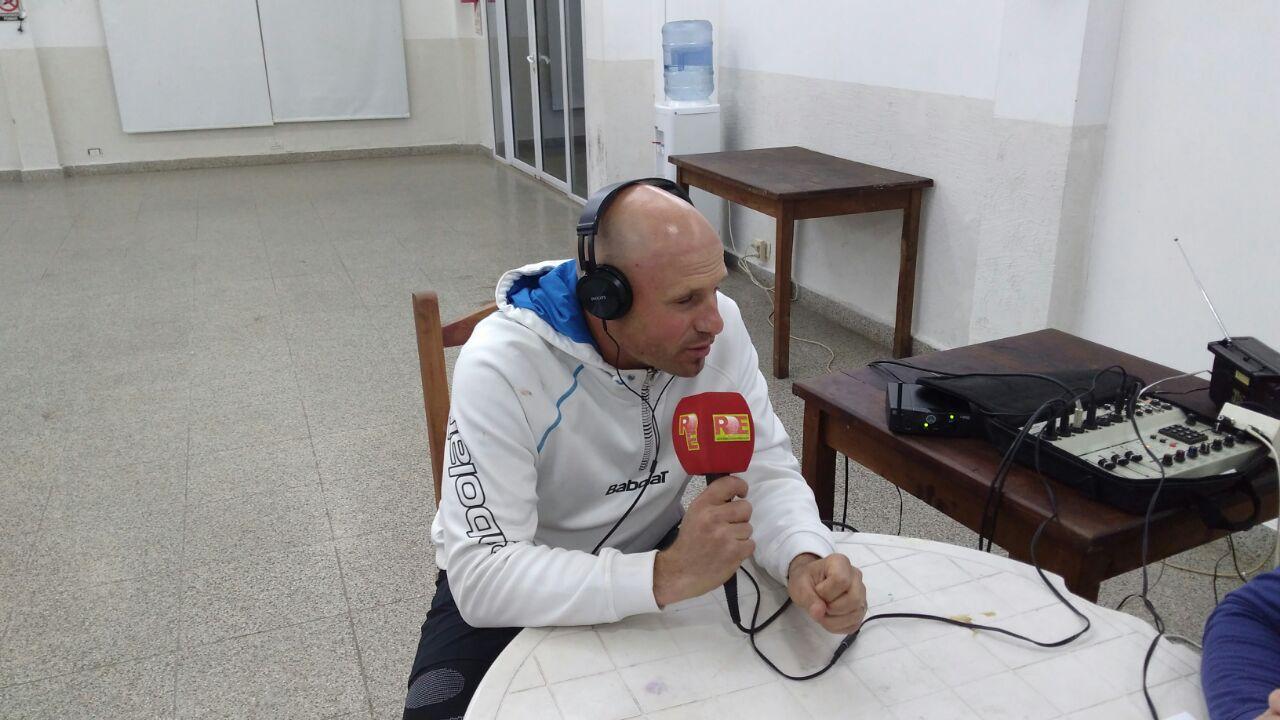 Bruno Bernardini integrante del equipo campeón +35