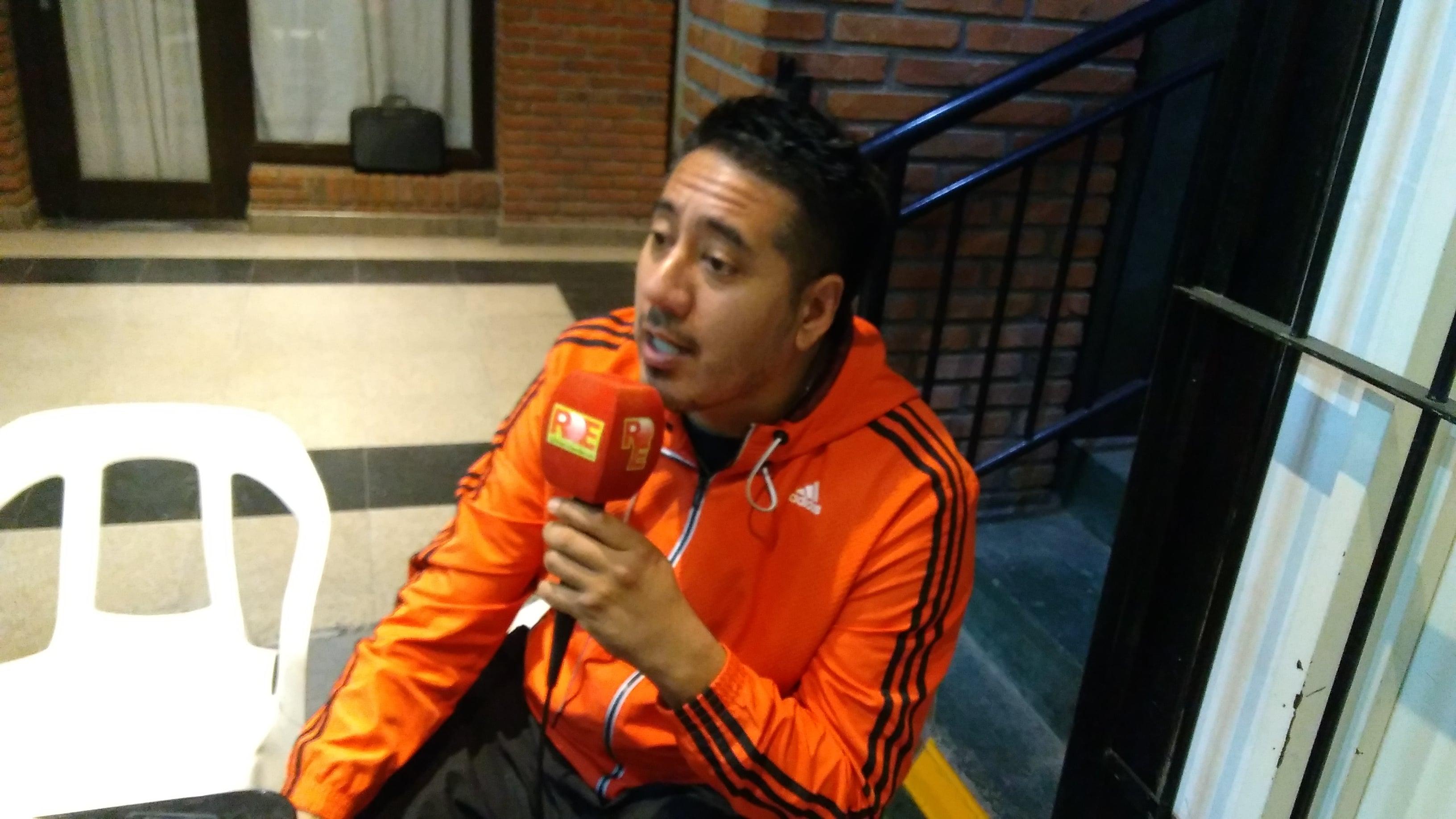 Rubén Ríos, entrenador de Boxeo de Villa Vallier