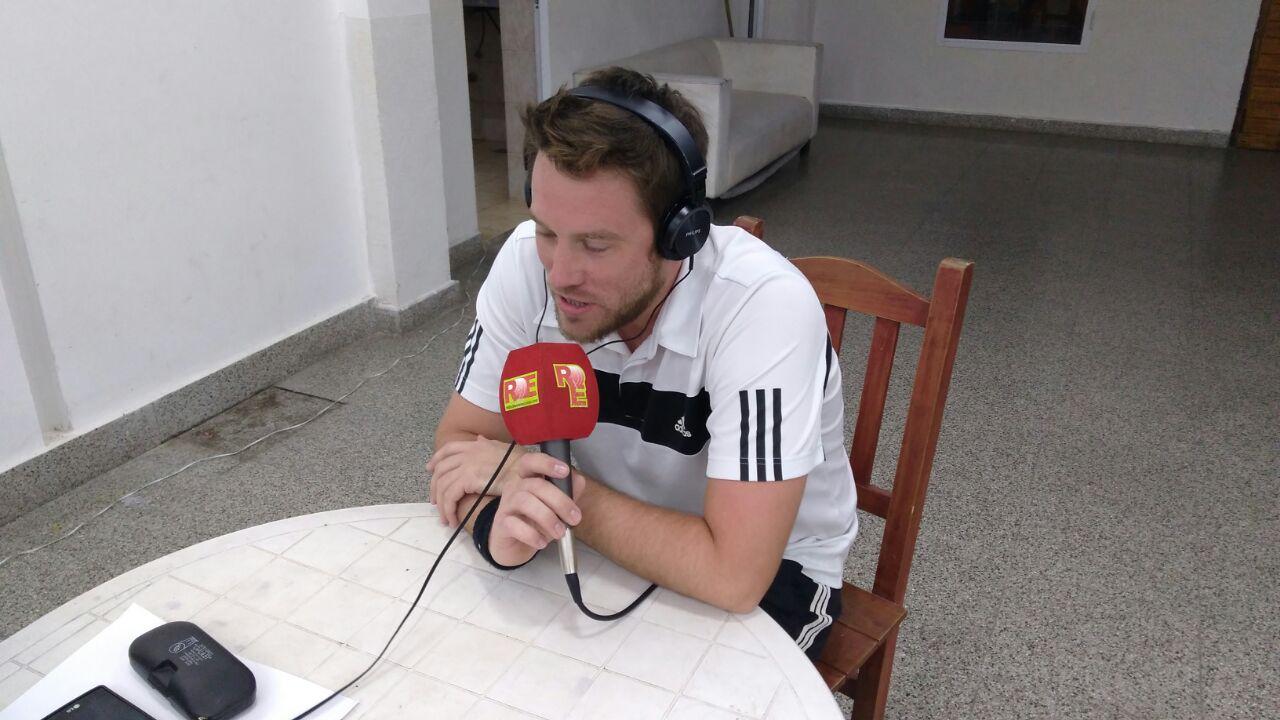 Juan Fragozo jugador e integrante de la subcomisión de Tenis