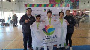 Atletismo y Taekwondo sumaron  cuatro nuevas preseas  para Escobar,  en los Bonaerenses