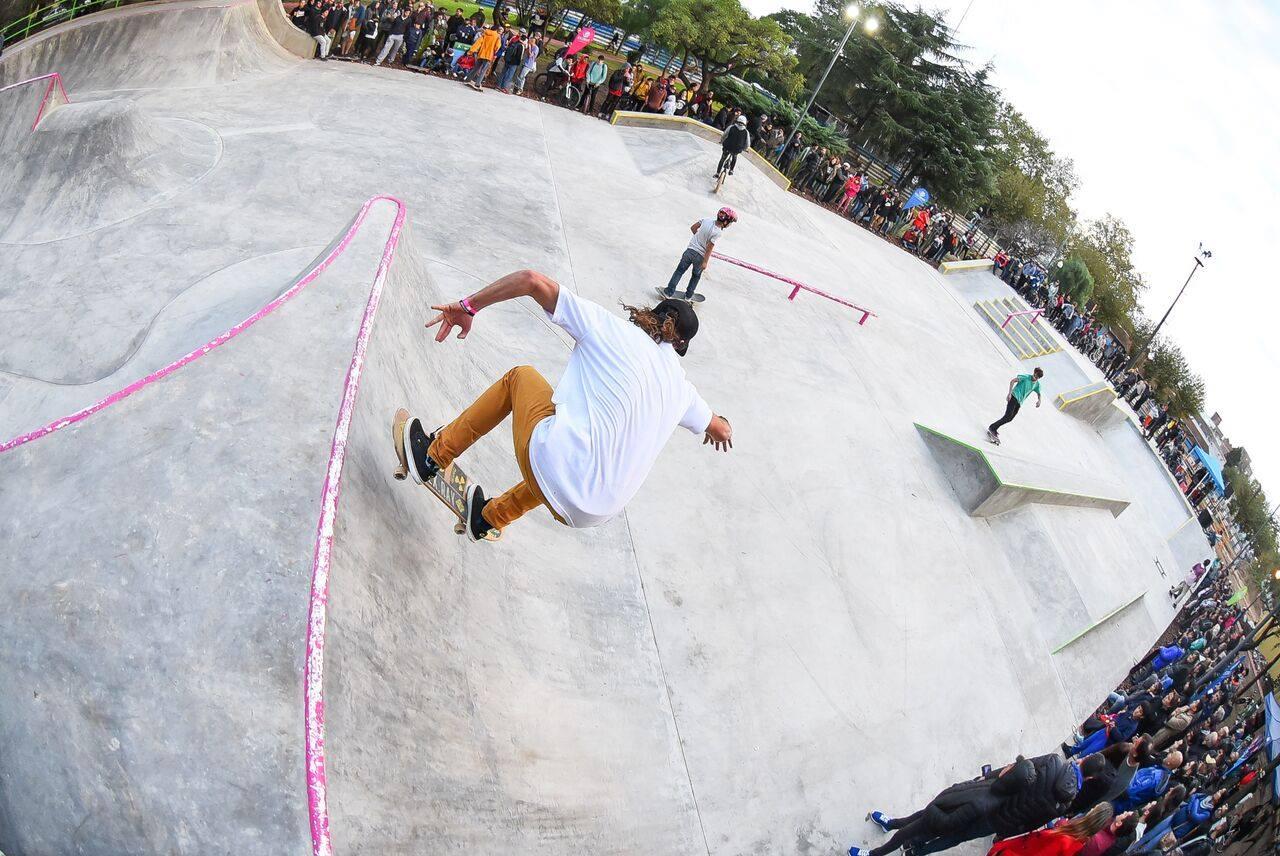 Escobar ya cuenta con su pista profesional de Skate