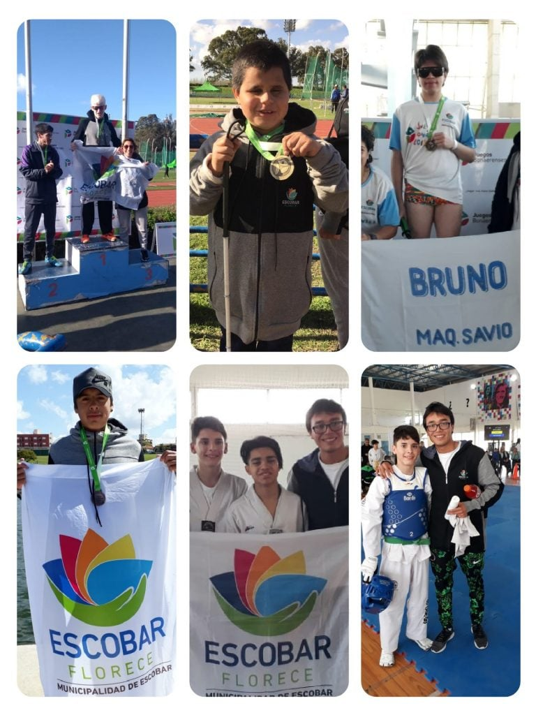 Día 2: Llegaron las medallas para Escobar en los Bonaerenses