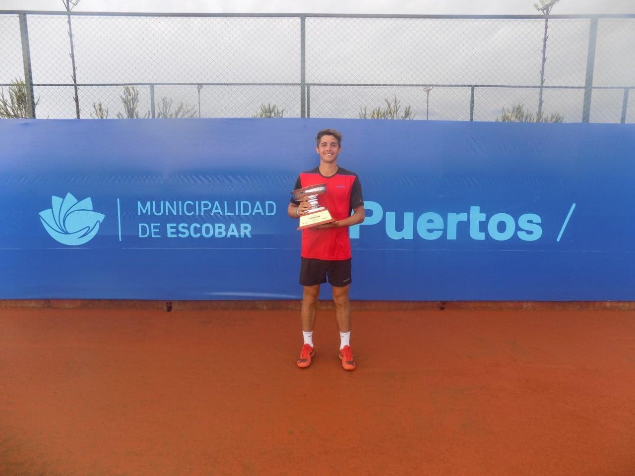 Santiago Rodríguez Taverna fue el campeón de la Copa Escobar