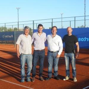Martín Vasallo Argüello: queremos seguir apoyando el desarrollo del tenis en Escobar